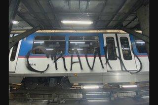 MRT management looking for witnesses after train vandalism