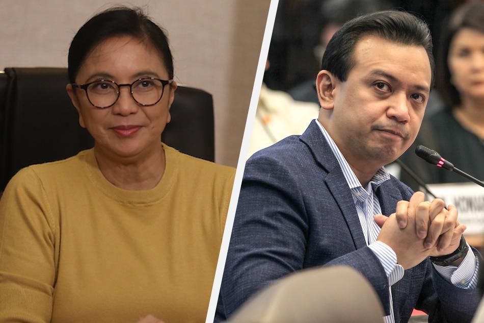 Robredo, Trillanes still among 1SAMBAYAN candidate pool for 2022 polls: convenor 1
