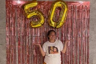 'Golden girl' Sylvia Sanchez turns 50