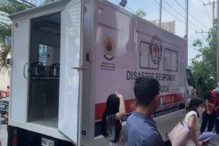 Korean embassy may donasyong food truck sa PH Red Cross