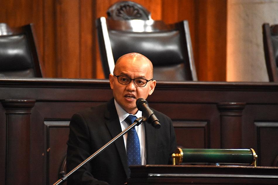 House panel approves report junking Leonen impeachment complaint 1