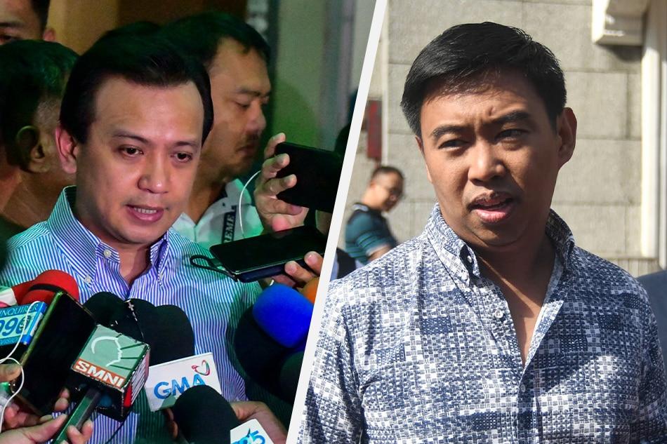 Trillanes found guilty of libel over 2015 statements vs ex-Makati mayor Junjun Binay - ABS-CBN News
