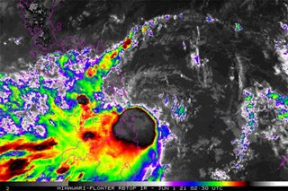Tropical Storm Dante barrels toward Eastern Samar