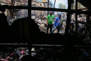 Fire hits Taguig barangay