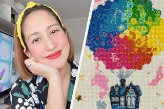 Jolina Magdangal, bagong hobby ang diamond painting para mag-relax