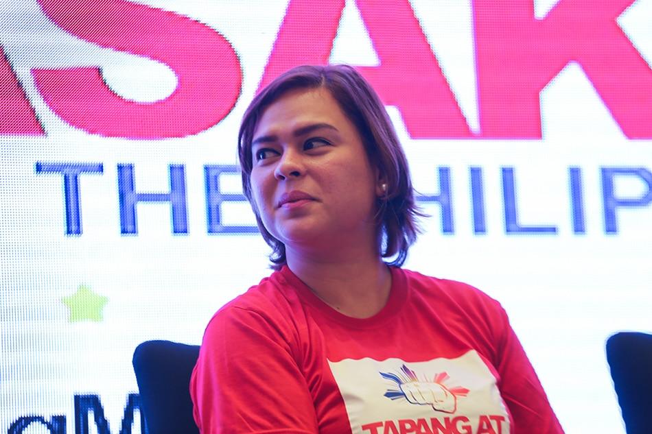 Sara douses hints of Duterte-Duterte tandem in 2022 1