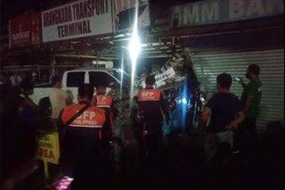 9 sugatan sa pag-araro ng pick-up sa transport terminal sa Capiz