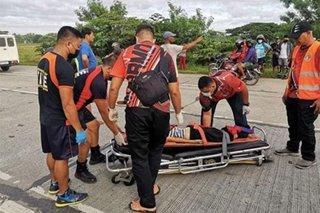 Matandang babae patay matapos mabangga ng kotse sa Dumangas, Iloilo