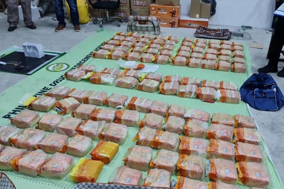 155 kilos of 'shabu' worth over P1-B seized in 2 drug busts 1