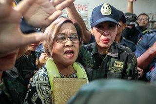 De Lima seeks court's OK for COC filing preps