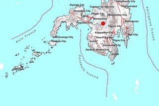 Magnitude 5.9 quake jolts Bukidnon province, nearby areas