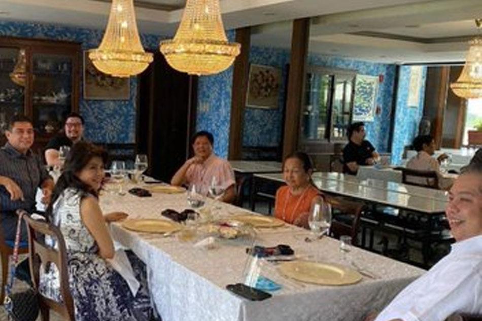 Arroyo nakipagpulong sa Marcos siblings, Romualdez