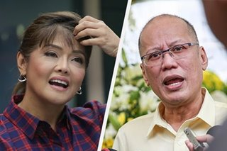 Imee Marcos condoles with Aquino family over Noynoy's passing