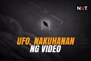 UFO, nakuhanan ng video