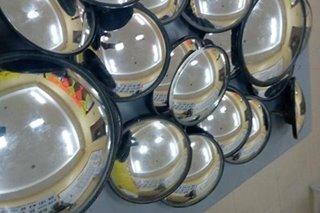 Ginagamit pamboso? Ball mirrors sa mga tricycle sa Panabo kinumpiska