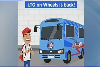 LTO on Wheels bibiyahe sa PITX sa Okt. 9