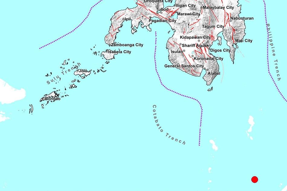 Magnitude 6.2 quake jolts Davao Occidental: Phivolcs 1