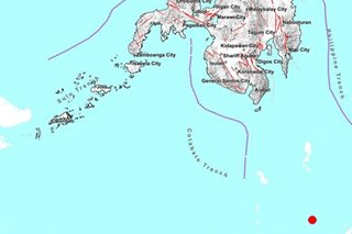 Magnitude 6.2 quake jolts Davao Occidental: Phivolcs