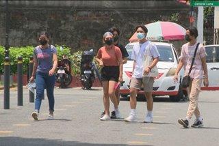 Ilang parke sa Metro Manila dinagsa kasunod ng pagluwag ng age restrictions