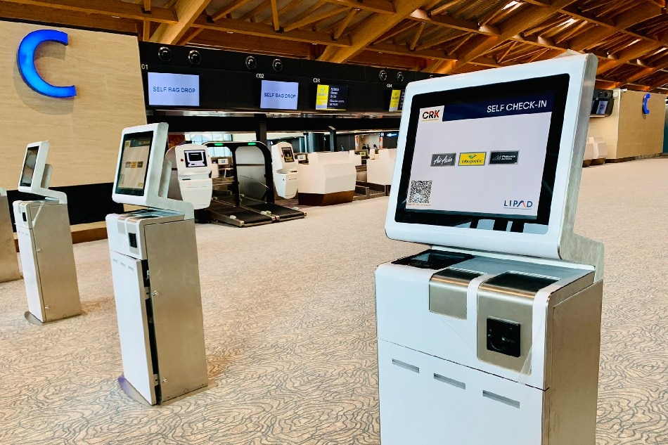 Contactless check-in, bag drop tampok sa bagong terminal ng Clark airport 1