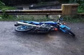 Motorcycle rider patay, 3 sugatan sa aksidente sa Iloilo