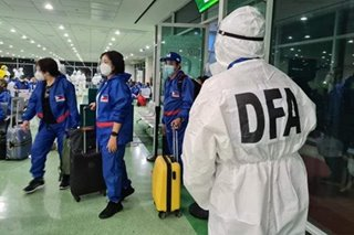 DFA repatriates 150 Filipinos from Bangladesh