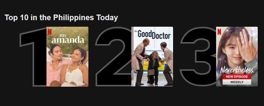 'My Amanda' is most popular Pinoy title on Netflix PH 1