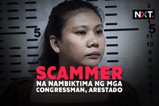 Scammer na nambiktima ng mga congressman, arestado