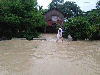 2 barangay sa bayan sa Occidental Mindoro, na-isolate dahil sa baha