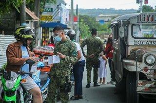 Rizal PNP conducts pre-SONA checkpoint