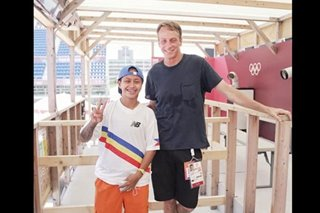 LOOK: Margielyn Didal meets skateboarding legend Tony Hawk