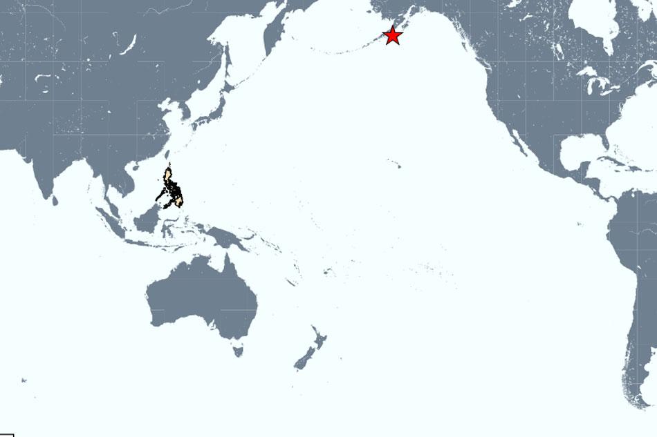 Phivolcs: No tsunami threat in PH after strong Alaska quake 1