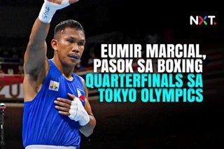 Eumir Marcial, pasok sa boxing quarterfinals sa Tokyo Olympics