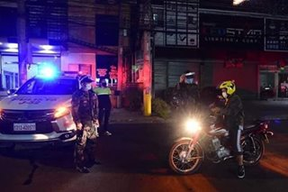 Davao City extends curfew, 24-hour liquor ban until December 31