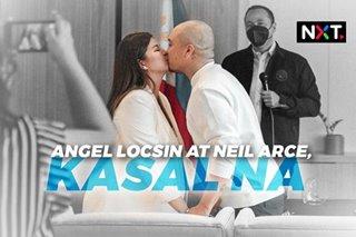 Angel Locsin at Neil Arce, kasal na