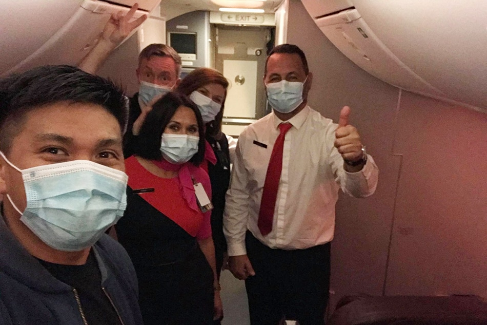 Pinoy seafarer, 'solo flight' sa eroplano sa Australia