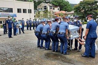 Labi ng Sulu police director naiuwi na sa Baguio