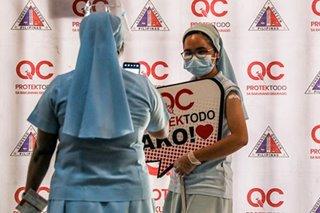 Claretian nuns, seminarians receive COVID-19 shots