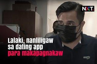 Lalaki, nanliligaw sa dating app para makapagnakaw