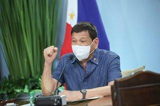 Duterte: No corruption in gov't face masks, shields