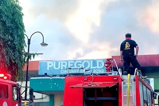 Supermarket sa Antipolo nasunog; pinsala aabot sa P35-M
