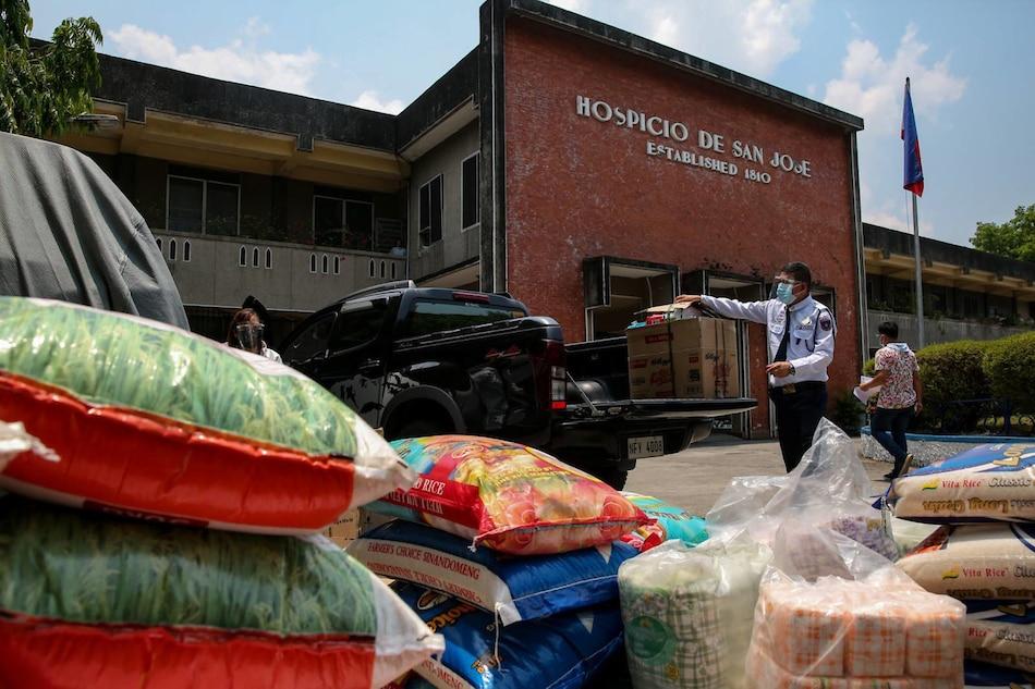 The Hospicio de San Jose in Manila on April 30, 2021. George Calvelo, ABS-CBN News/File