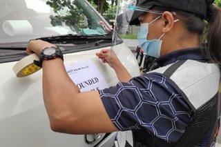 5 ilegal na shuttle at colorum van, huli sa Laguna
