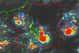 Storm signal no.1 raised due to tropical depression Jolina