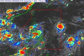 NCR at Signal No. 2, as Jolina moves over Sibuyan Sea