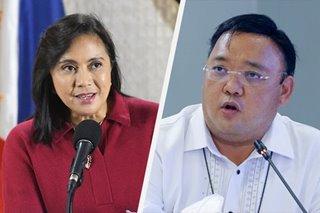 VP Robredo says Roque has no right to bully doctors
