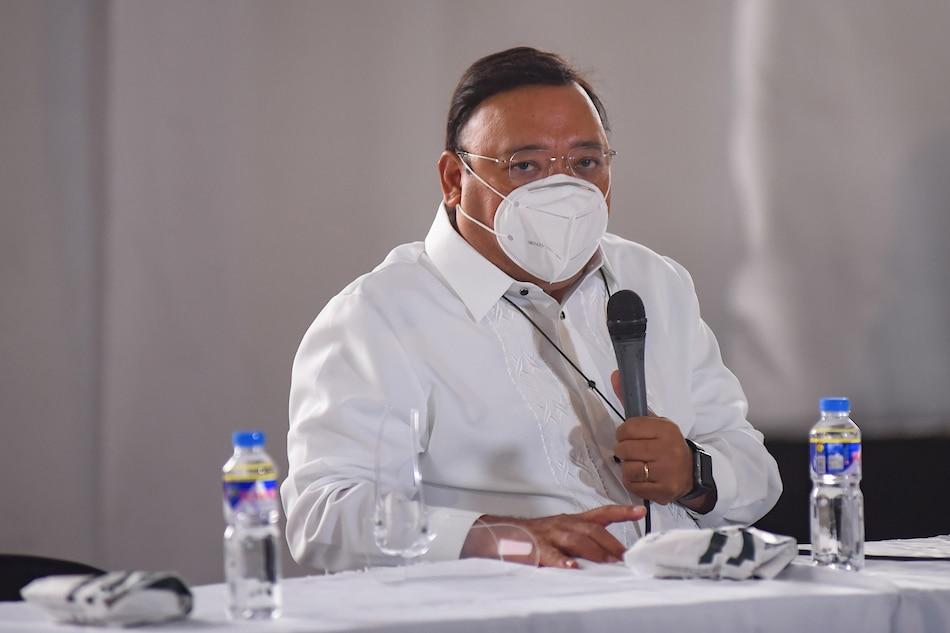 Palace spokesman Harry Roque. George Calvelo, ABS-CBN News/File