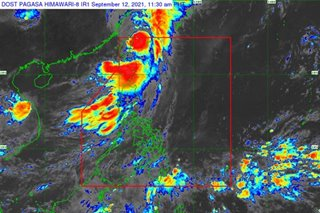Typhoon Kiko slightly weakens as it moves away from PH