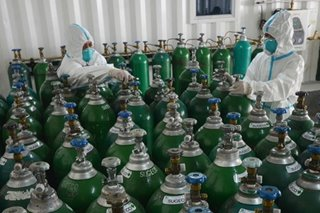 Manila mayor warns of low medical oxygen tank supply