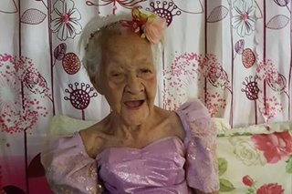 P1 million incentive urged for oldest Filipino alive